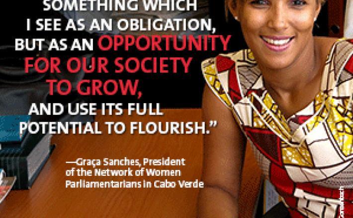 Graça Sanches Member of Parliament Cabo Verde