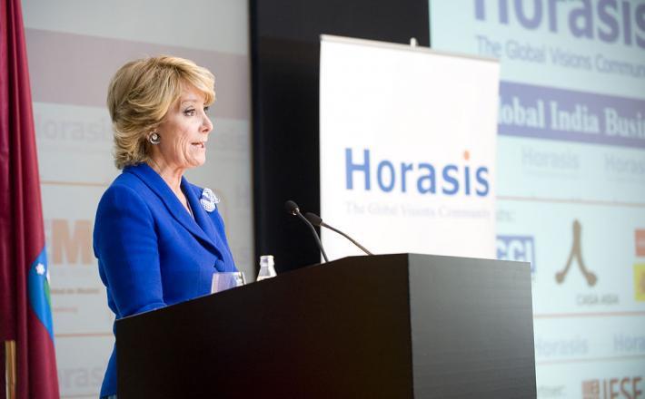 Esperanza Aguirre candidata por el PP -©Richter Frank-Jurgen
