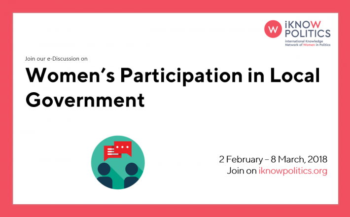 Women's Participation in Local Government