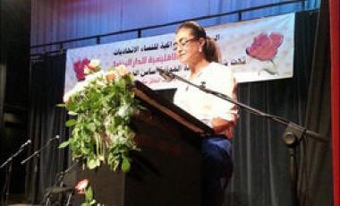 Les militantes de l'Union socialiste des forces populaires au Maroc veulent préserver les acquis en matière de droits de la femme.