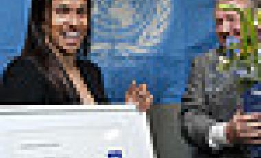 Marta Vieira da Silva, UNDP Goodwill Ambassador