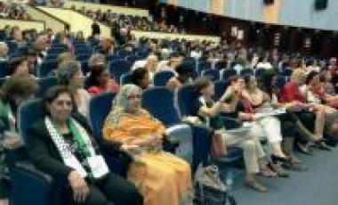 L'Union des femmes sahraouies prend part au 9e Congrès des femmes portugaises