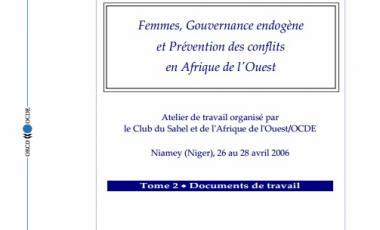 Femmes, Gouvernance endogène et Prévention des conflits en Afrique de l'Ouest