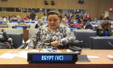 النائبة المصرية هبة هجرس