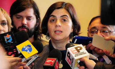 Claudia Pascual Grau Ministra Directora Servicio Nacional de la Mujer-Foto Sernam 2014