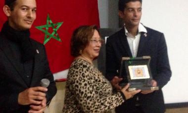 Gloria Young Morocco
