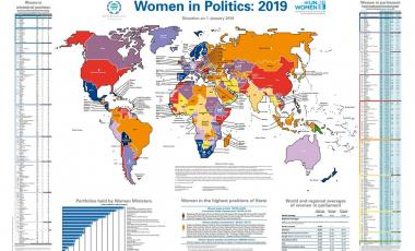 Political Map Of Spain 2017.Data And Statistics International Knowledge Network Of Women In