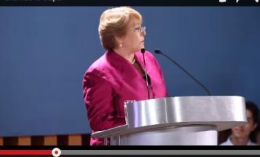 Michelle Bachelet-Presidenta de Chile y primera Secretaria General Adjunta y primera Directora Ejecutiva de ONU Mujeres