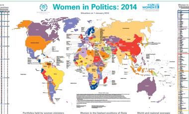 Women in politics map