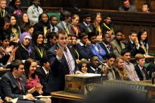 Youth in parliament