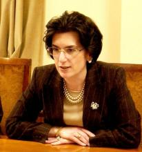 Georgia's Acting President Nino Burjanadze
