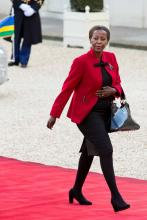 Louise Mushikiwabo, Minister of Foreign Affairs and Cooperation of the Republic of Rwanda. (Image: Maxppp/ZUMAPRESS.com)