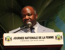 Le président gabonais, Ali Bongo Ondimba