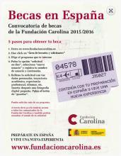Becas en España Fundacion carolina