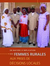 Des femmes rurales aux prises de decisions locales.