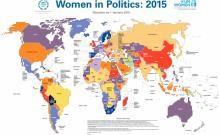 Women in Politics 2015 Map