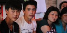 Male students Kyrgystan UNWOMEN