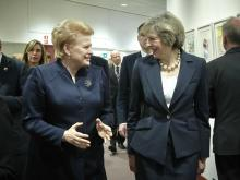 Dalia Grybauskaitė and theresa may