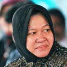 Tri, Rismaharini, Mayor of Surabaya