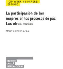La participación de las mujeres en los procesos de paz