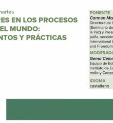 Las mujeres en los procesos de paz en el mundo-pensamientos y practicas